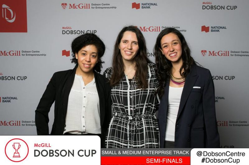 Elisabetta, Tatiana and Betty at the Dobson Cup